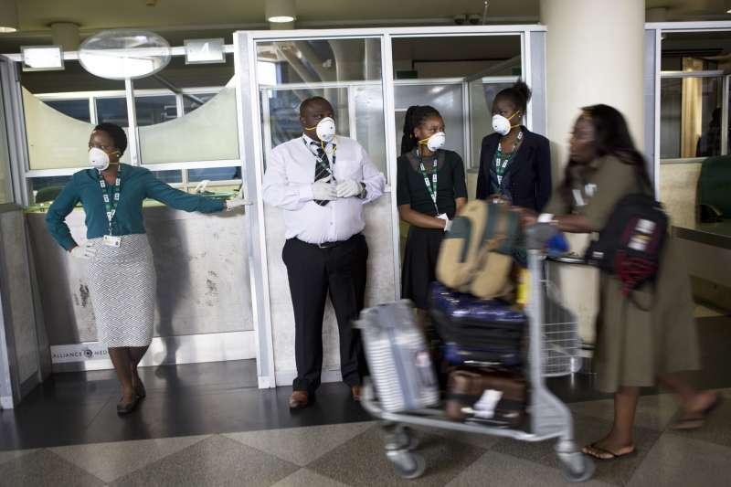 武漢肺炎:辛巴威首都機場開始檢疫(AP)