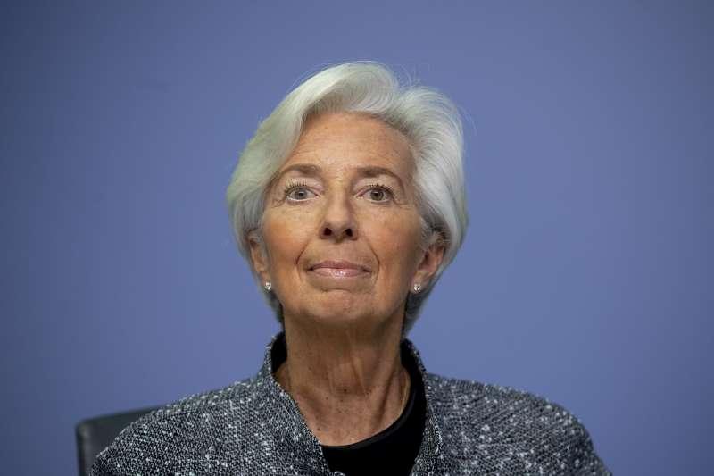 歐洲央行總裁拉加德(Christine Lagarde)(AP)