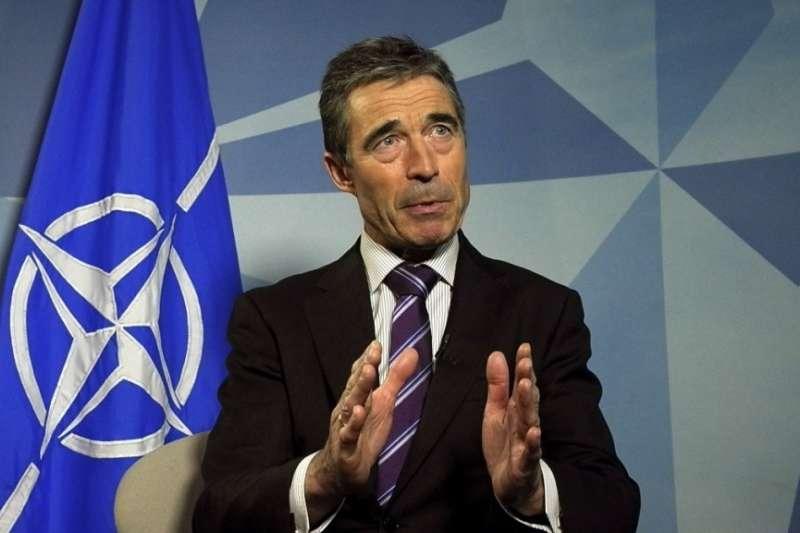 北約(NATO)前秘書長拉斯穆森(美聯社)