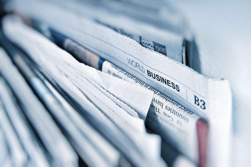 報紙(圖/pixabay)