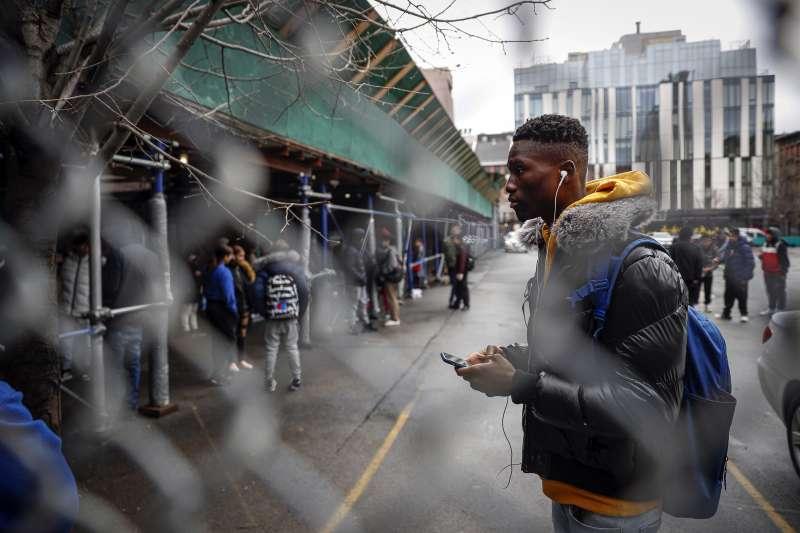 2020年3月,新冠肺炎(武漢肺炎)疫情侵襲美國,紐約州祭出多項防疫措施(AP)