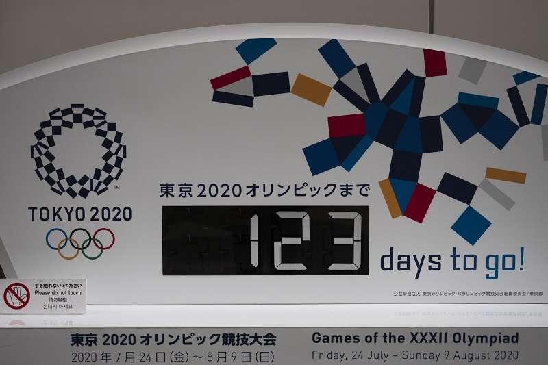 距離東京奧運原定時間僅剩123天。(美聯社)