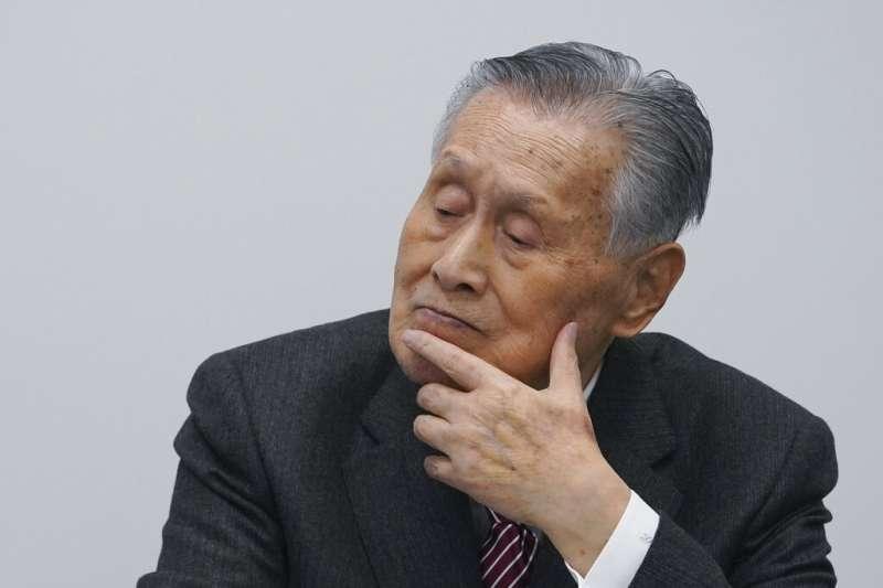 日本前首相、東京奧運會和殘奧會組織委員會主席森喜朗。(美聯社)