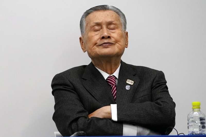 東京奧運會和殘奧會組織委員會主席森喜朗。(美聯社)