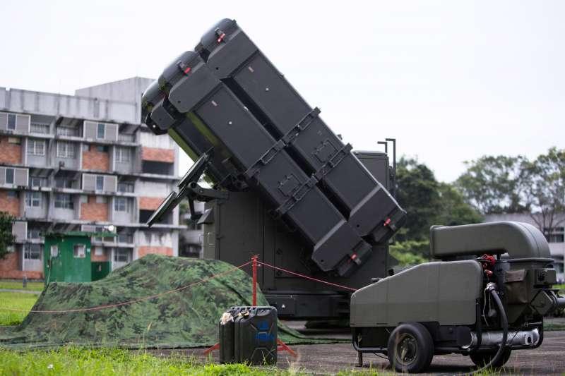 20200324-麻雀飛彈戰備畫面。(取自軍聞社)