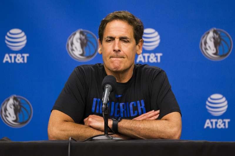 達拉斯獨行俠老闆庫班認為NBA有望六月前復賽。(AP)