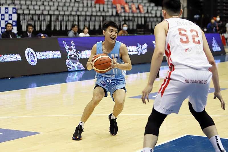 今年榮獲冠軍賽MVP的健行科大後衛林俊吉即將畢業,但較為嬌小的身材是否能受到職業隊的親睞,也是個問號。(余柏翰攝)