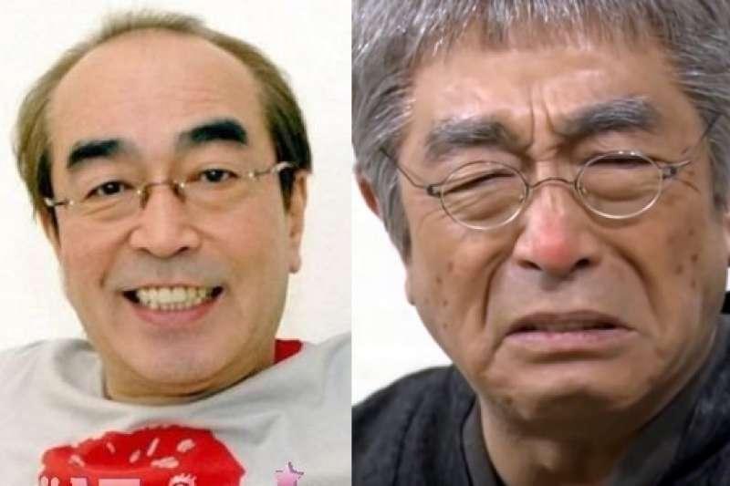 日本喜劇王、人稱「怪叔叔」的藝人志村健因肺炎在東京一家醫院治療。(圖/取自網路)