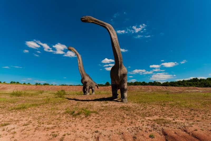 恐龍示意圖(取自pixabay)