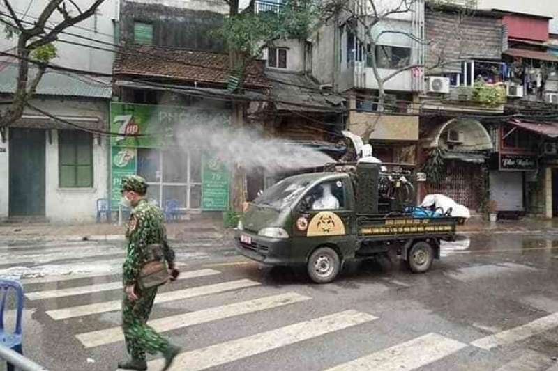 越南政府以超高規格看待這次疫情。(圖/取自看見世界天氣晴官方粉專)