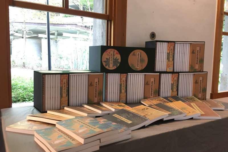 國美館復刻出版「臺灣美術展覽會」、「臺灣總督府美術展覽會」展覽圖錄,並同步推出《臺府展圖錄復刻別冊》。(圖/國立臺灣美術館提供)