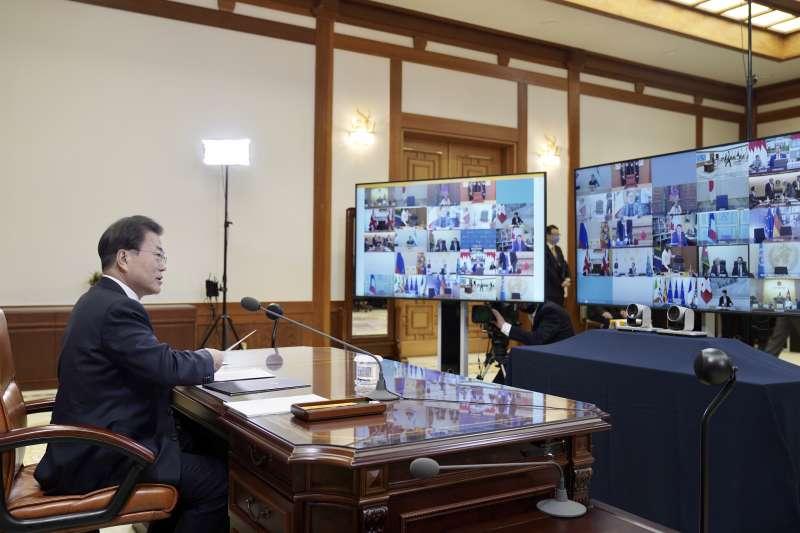 3月26日,二十國集團(G20)歷史上首次召開視訊峰會,以應對新冠肺炎疫情帶來的衝擊。(AP)
