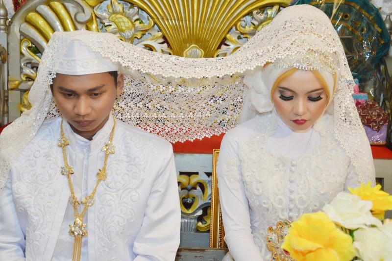 印尼近期興起「不見即婚」。(圖/*CUP)