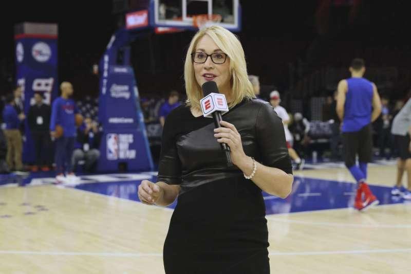 ESPN資深場邊記者兼球評也確診新冠肺炎。(AP)