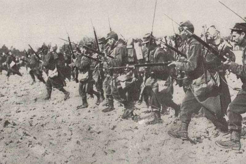 法軍在洛林的衝鋒(資料照,Wikimedia Commons)