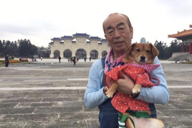 志村健感染新冠離世,圖為志村健最後一次訪台。(圖/志村健 Instagram)