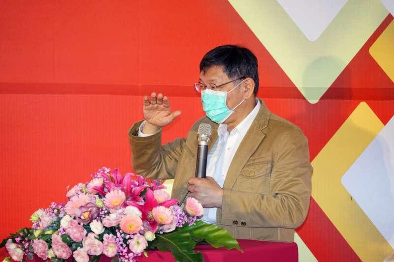 台北市長柯文哲呼籲中央應與地方協調入境人數、統一外國入境檢疫標準。(取自台北市政府)