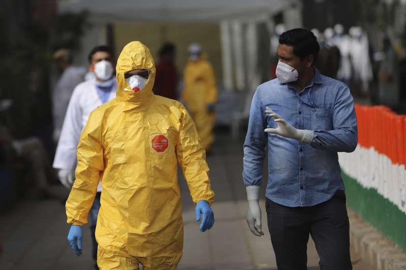 武漢肺炎:印度鎖國防疫(AP)