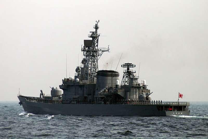 日本自衛隊島風號護衛艦。(Kenichiro MATOHARA@Wkipedia/CC BY 2.0)