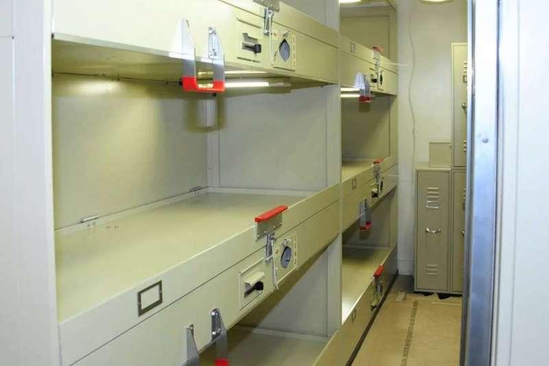 「羅斯福號」航母的水兵寢室。(美國海軍官網)