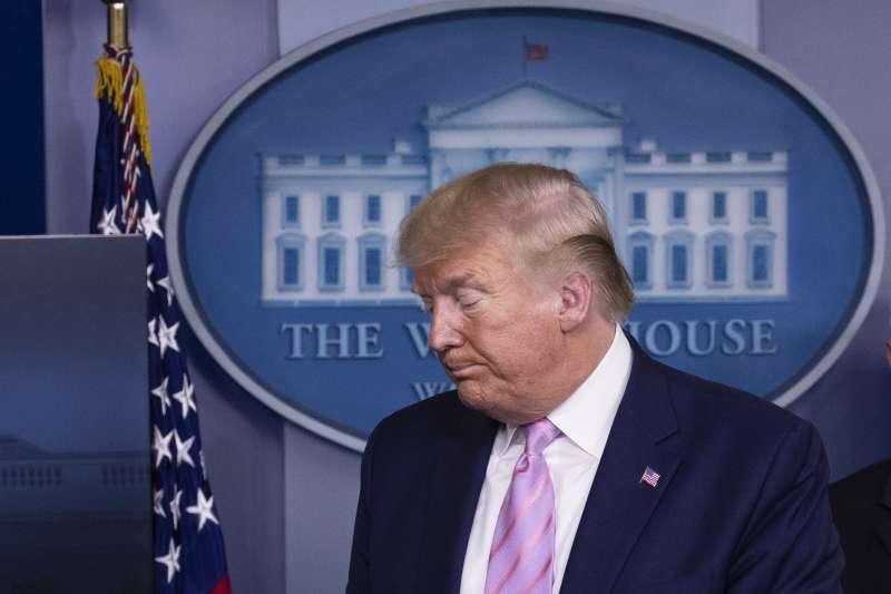 美國總統川普拒絕全國實施禁足令(AP)