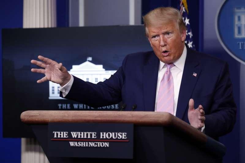 武漢肺炎:美國總統川普拒絕全國實施禁足令(AP)