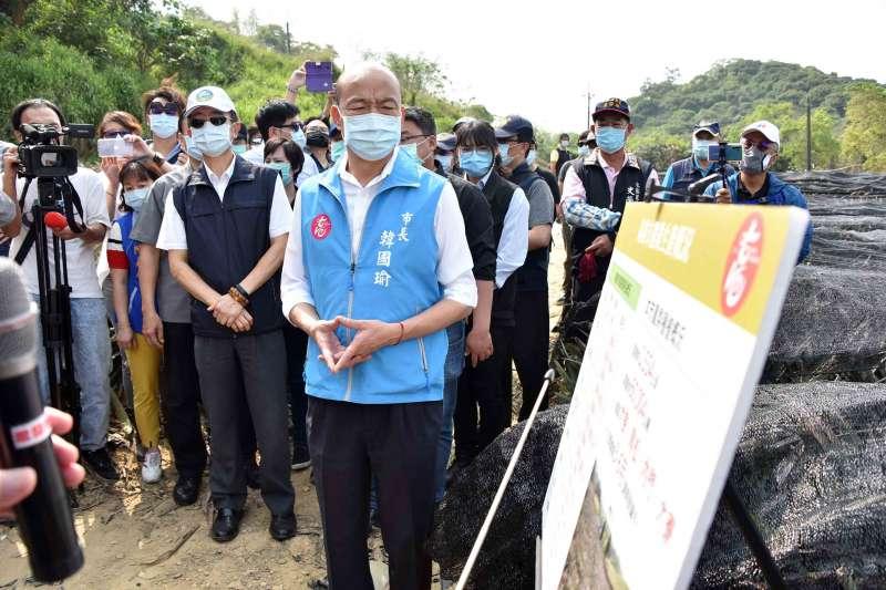 資深媒體人羅友志認為,高雄市長韓國瑜(見圖)聲請停止執行罷免案不見得有利。(資料照,高雄市政府提供)