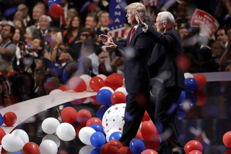 2016年美國總統大選,共和黨的全國大會(AP)