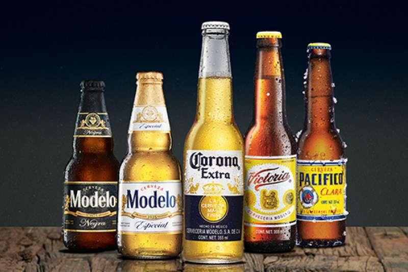 可樂娜啤酒品牌響亮,在INTERBRAND全球百大品牌排行第79、價值近70億美元(圖片來源:Modelo Group)