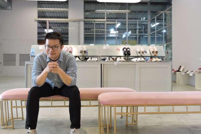 洪宋鴻帶領女鞋品牌FMshoes成功轉型,在中台灣打造第一間實體門市。(圖/FMshoes提供)