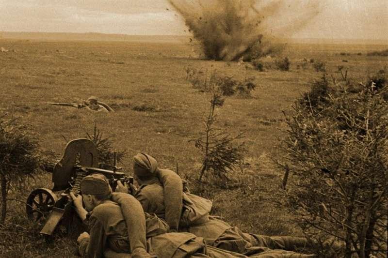 紅軍步兵機槍小組