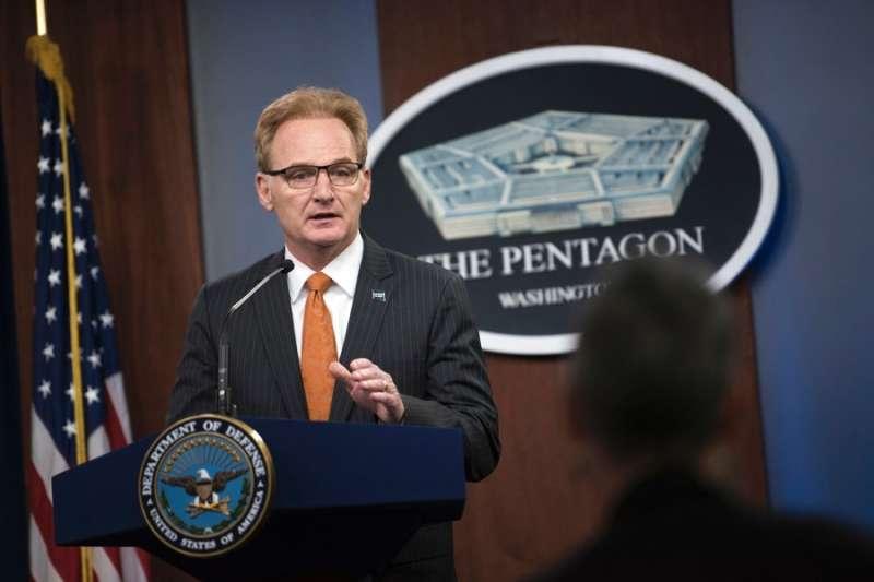 美國代理海軍部長莫德利。(美國海軍)