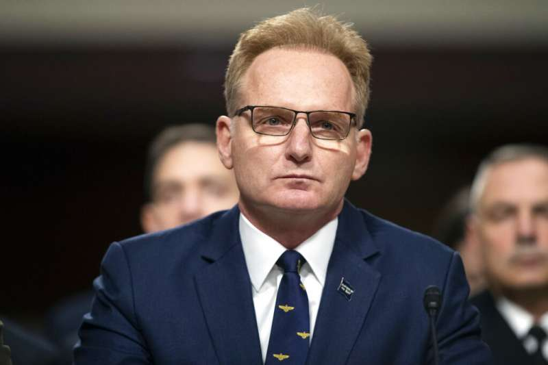 美國代理海軍部長莫德利。(美聯社)