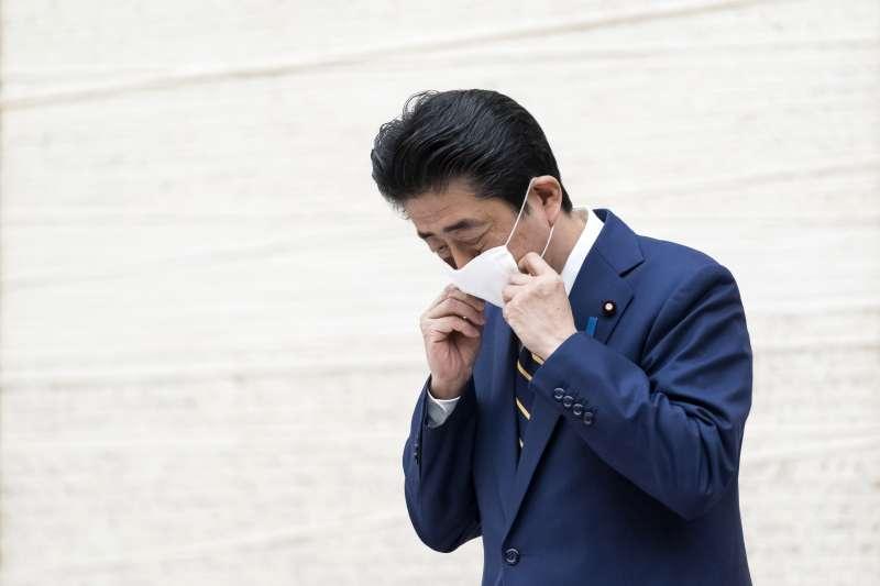 武漢肺炎:日本首相安倍晉三(AP)