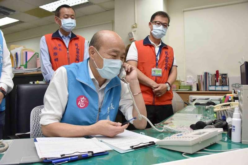 高雄市長韓國瑜團隊提「停止執行罷免」聲請,資深媒體人姚立明直言「成功機率是零」。(資料照,高雄市政府提供)