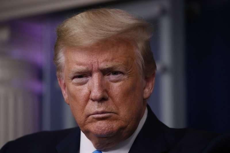美國總統15日表示,當局將力拼在今年底之前完成新冠疫苗研製。(AP)