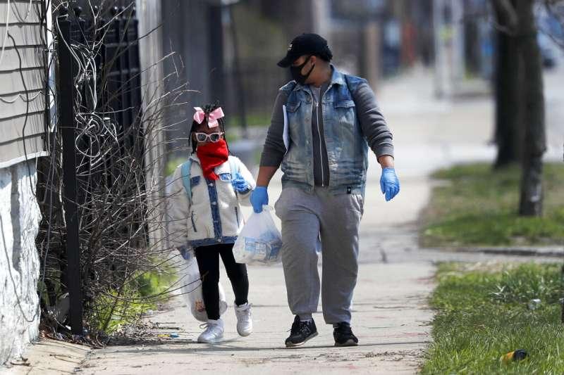 美國非裔人口成為新冠肺炎(武漢肺炎)受創最嚴重的群體。(AP)