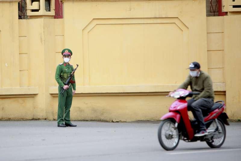 越南鐵腕防範新冠肺炎(武漢肺炎)。(AP)