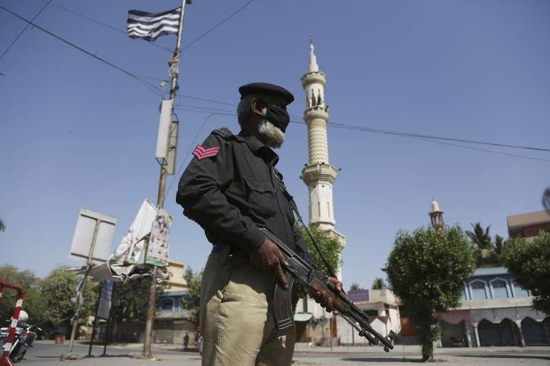 新冠肺炎疫情肆虐,巴基斯坦當局實施封鎖令(AP)