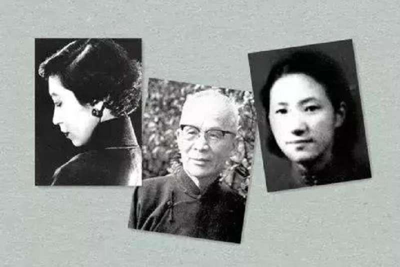 張愛玲、蘇青與胡蘭成。
