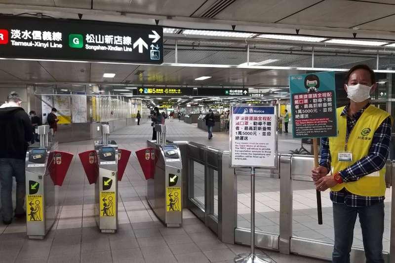台北捷運近年逃票現象倍增。(台北市政府提供)