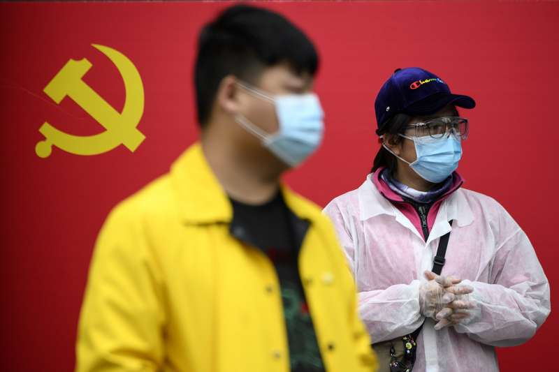 闖出武肺大禍,中國卻如日中天?(圖片來源:NOEL CELIS/AFP via Getty Images|cup提供)