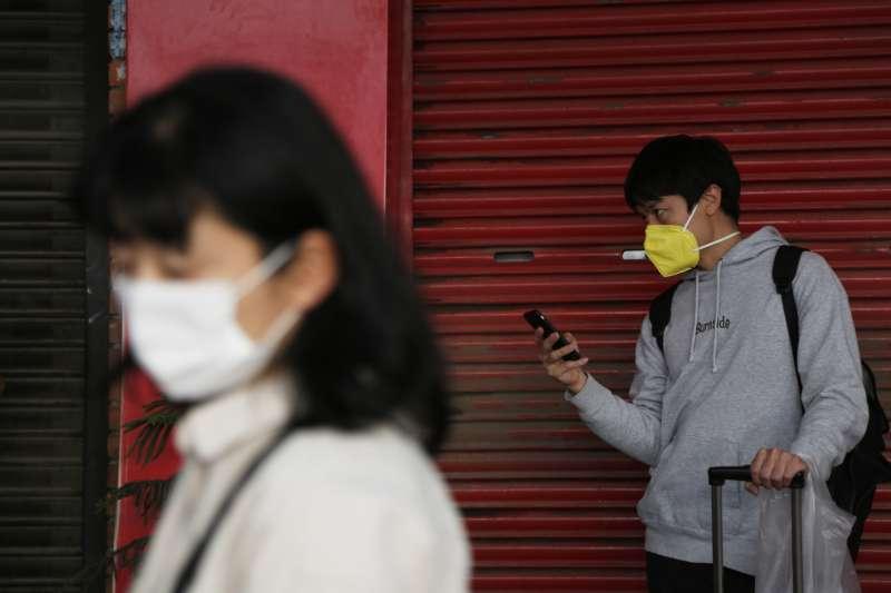 2020年4月,日本新冠肺炎(武漢肺炎)疫情持續惡化(AP)