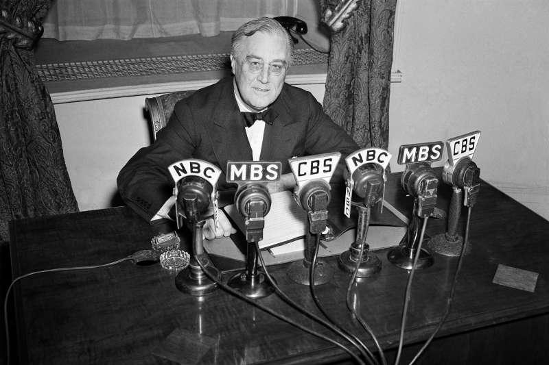 危機中的美國領導人,羅斯福(Franklin D. Roosevelt)總統,1941年(AP)