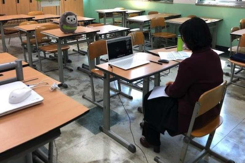 新冠病毒之下,南韓人這樣繼續堅持上課(BBC)