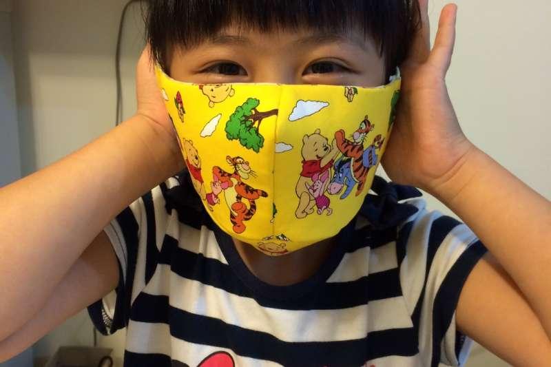 目前規劃幼幼版口罩將在網路販售。(圖/ flickr)