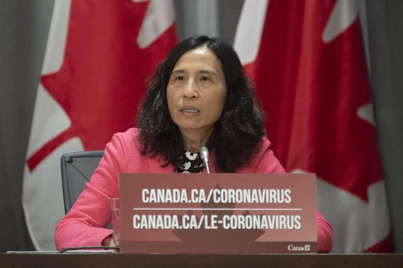 武漢肺炎:加拿大首席公衛官譚詠詩(AP)