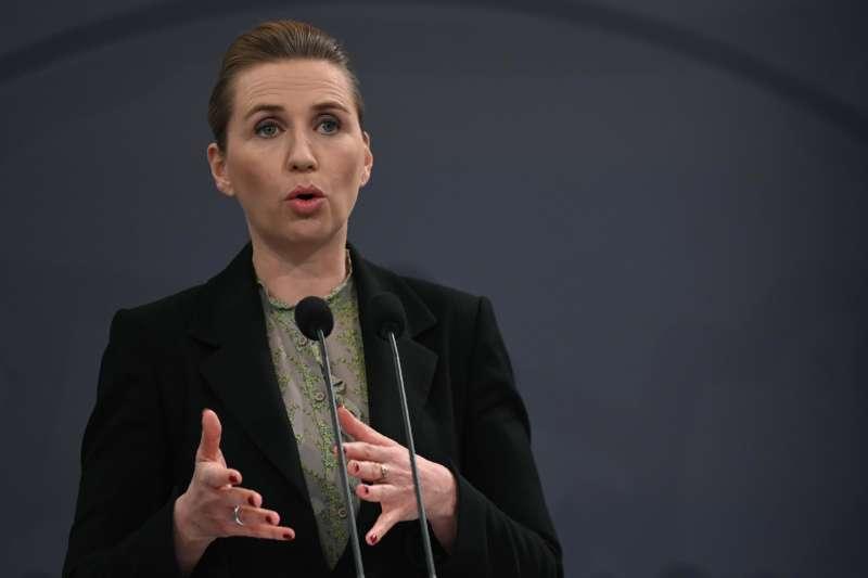 丹麥總理佛瑞德里克森(Mette Frederiksen)(AP)