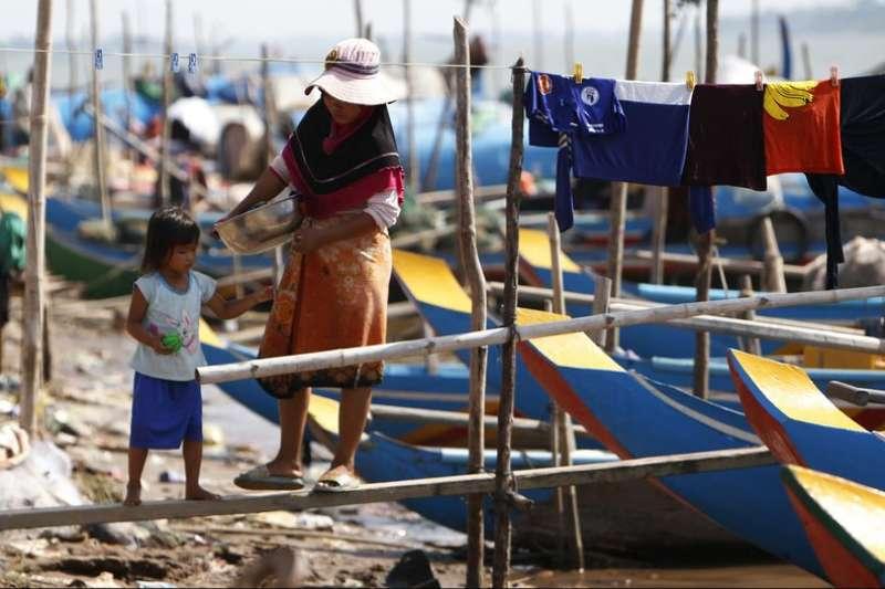 湄公河流域面臨嚴重乾旱。(資料照,AP)