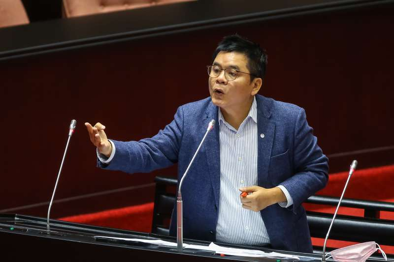 20200414-民進黨立委莊瑞雄14日於立院質詢。(顏麟宇攝)